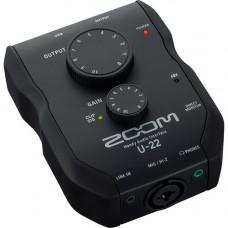 USB аудиоинтерфейс ZOOM U-22